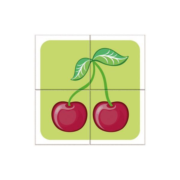 Houten blokpuzzel fruitsoorten (7)